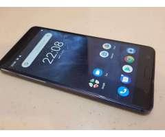 Nokia 6 32gb Azul Como Nuevo