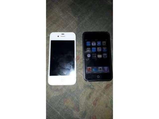 Ipod de 32 GB y iphone 4s