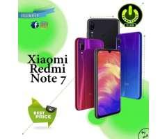 Xiaomi Redmi Note 7 48 Megapixeles / 2 Tiendas Fisicas Trujillo Expomall y Centro historic...