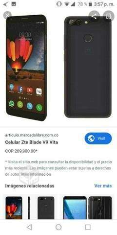 Celular zte v9 vita - Punta Arenas